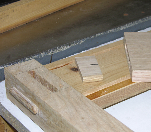 exposed tenon