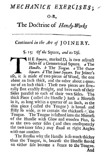 Moxon's 1683 description of