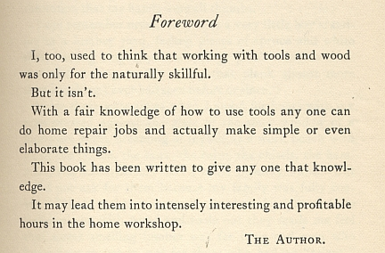 anonymous author speaking in stanley manual 1927
